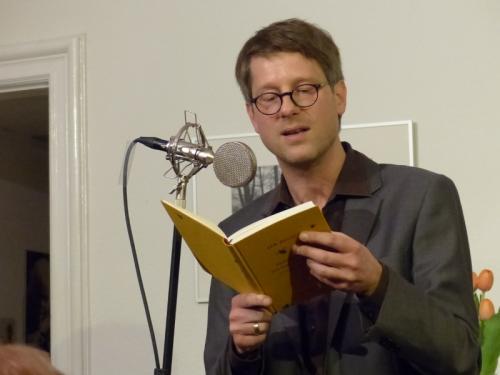 Jan Wagner liest aus seinen Gedichten