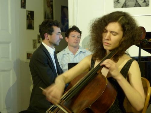 Dina Bolshakova am Cello