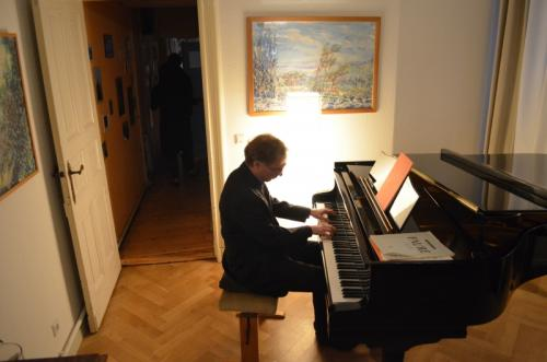 Tobias Hartlieb, Pianist