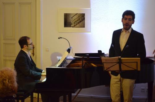 André Baleiro, Bariton und David Santos, Klavier