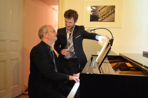 Tobias Mehling, Viola  Thomas Hennig, Klavier