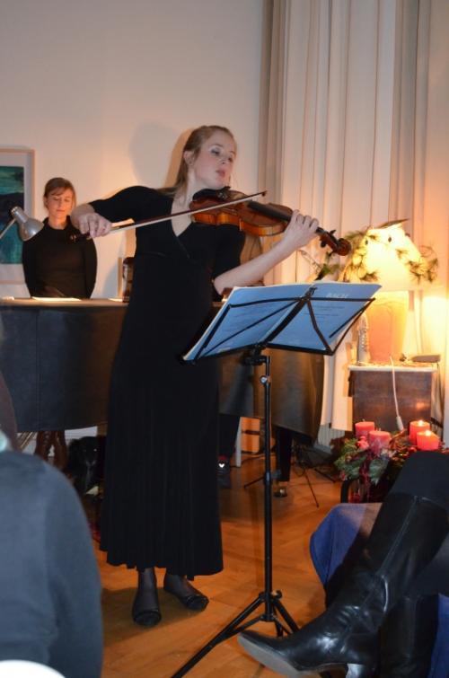 Celia Schann, Geige